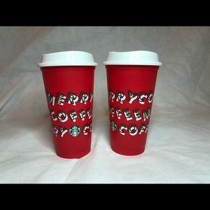 Starbucks 2019 Christmas Hot Cups